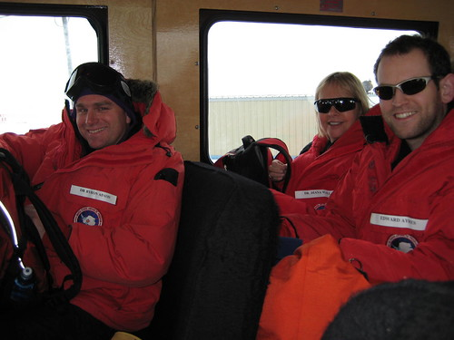 Byron, Diana and Ed on Ivan the Terra Bus