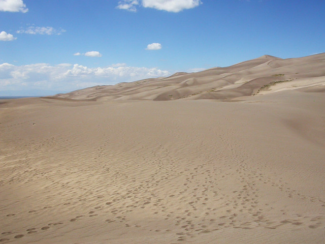 The Great Sand Dunes of Colorado by Ellen Brenna