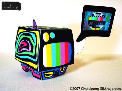 LINEart design on Speakerdog!