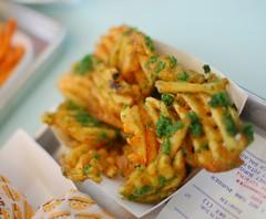 Garlic Parsley Waffle Fries