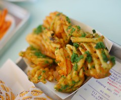 Garlic Parsley Waffle Fries
