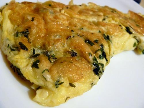 Tortilla de perejil