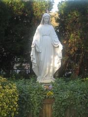Resurrection Church Virgin Mary Statue 2