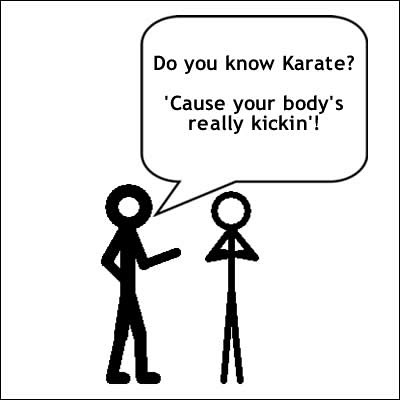 #25 This one is for my Karate friend