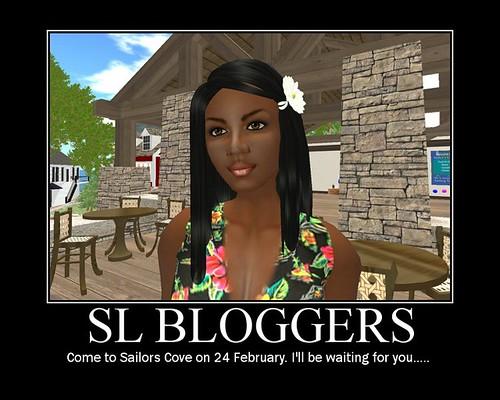 SL Blogger poster