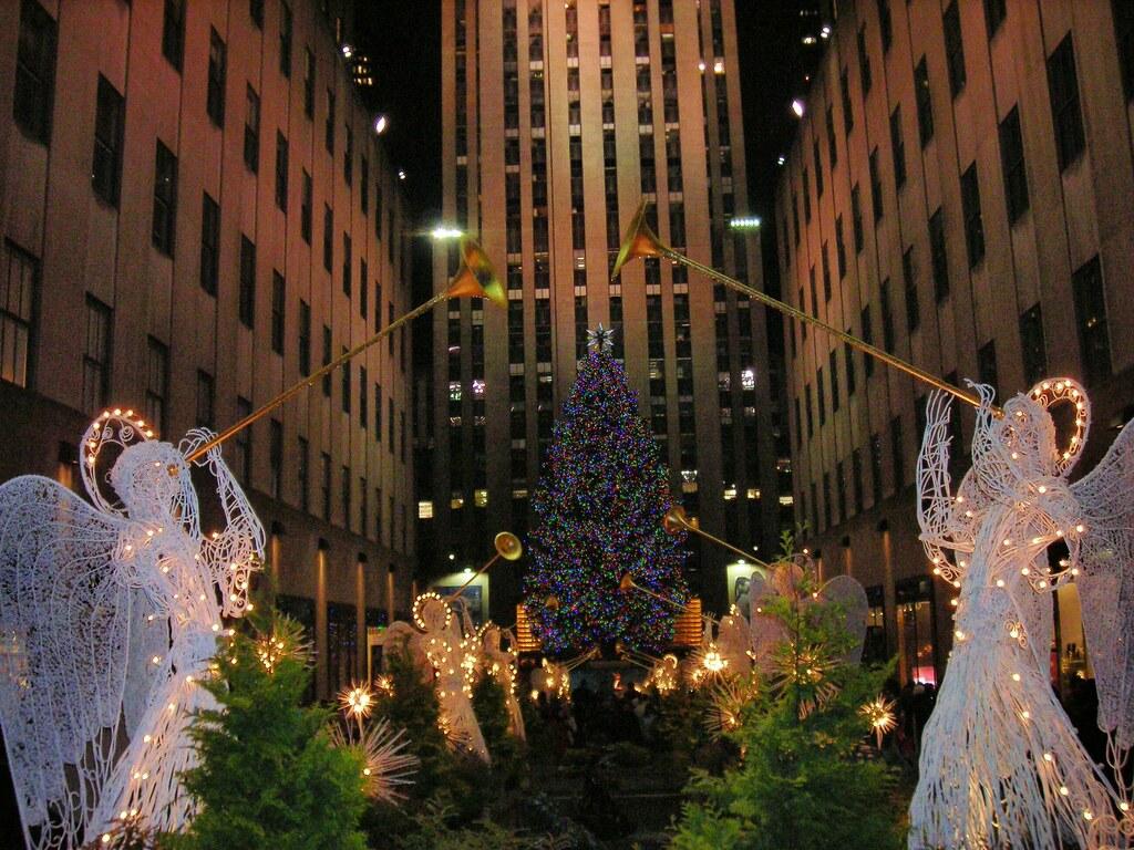 Angel Entrance to Rockefeller Center