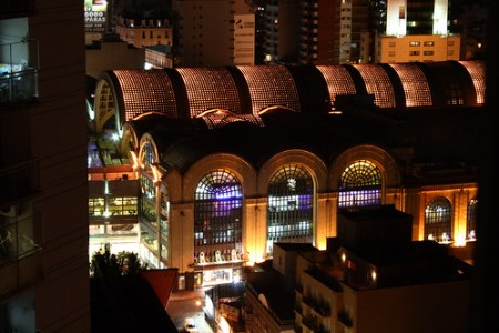 Abasto at Night, by Concepciones Relativistas on Flickr