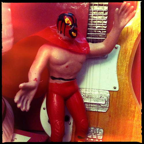 Tiny Red Mexican Wrestler