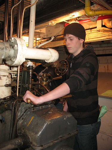 more photos of the Engineer for a Day program on Northwest Seaport's Flickr account
