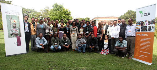 CTA-ILRI Web 2.0 learning opportunity group photo