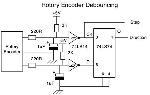Rotary encoder, messy signal?