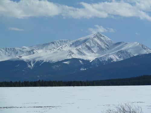 Mount Elbert near Leadville
