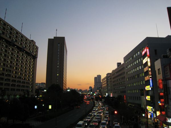 飯田橋から