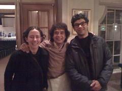 Liz, Zakir, Sam