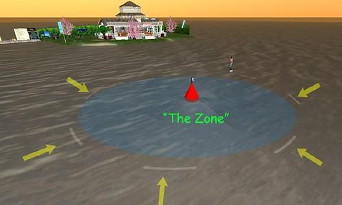 2 boat length zone