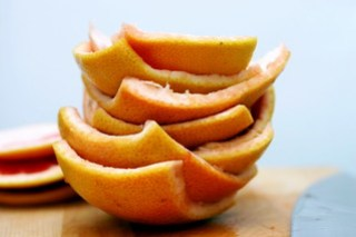 grapefruit peels, step 5