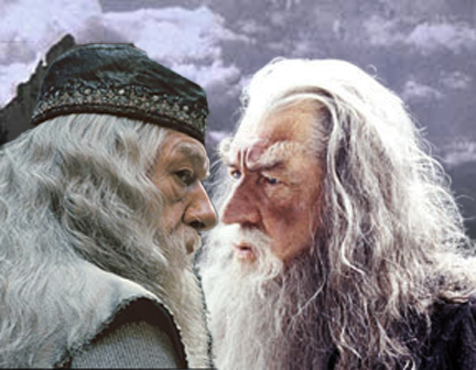 Dumbledore falls for Grindwald