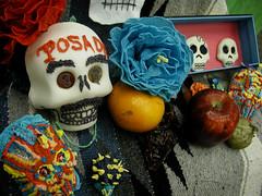 Jose Guadalupe Posada Ofrenda Detail