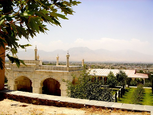 Babur's Gardens - Mosque by From Afghanistan With Loveّ.