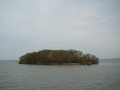 an island on the way to putin bay from catawba