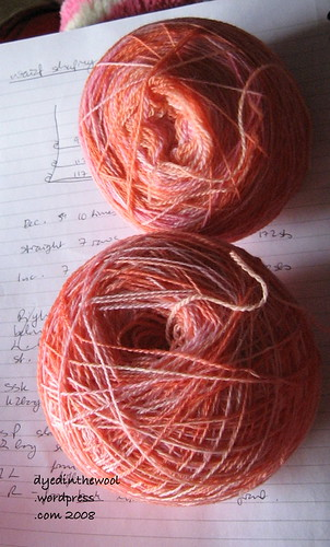 pink lace weight yarn