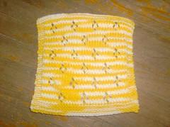 Tulip Lace Dishcloth