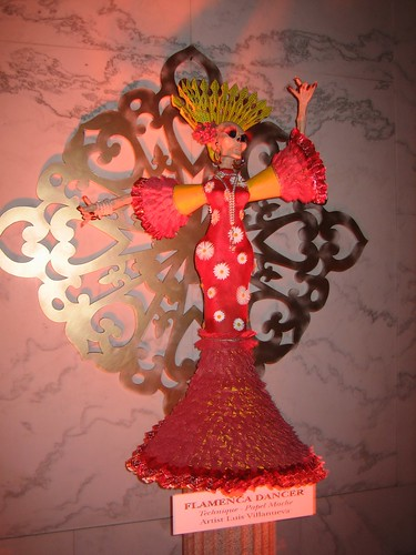 Flamenco dancer corpse
