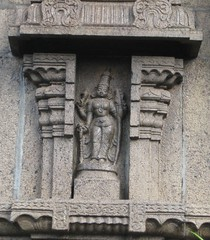 Paravthi with Bow and Arrow