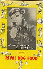 1940 Booklet Dogs of the World Rival Dog Food by Vintage Quincy