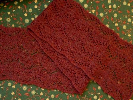 Chinese Dragon Lace Scarf