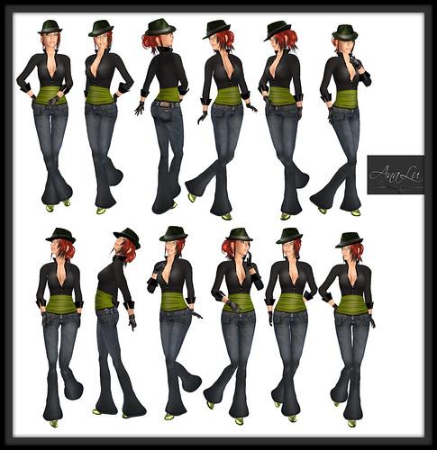 -AnaLu- *fresh poses* (181-192)