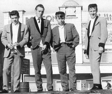 Teddy Boys, Circa 1958 London