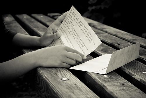 Once I got a love letter