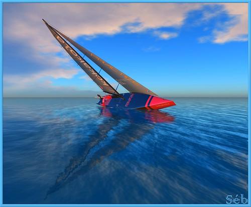 New SailBoat by Seb