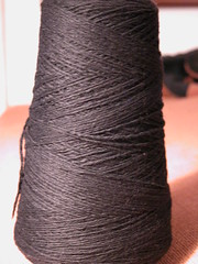 Black angora/wool
