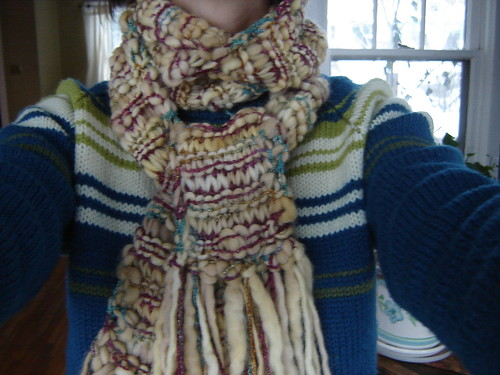 Fleece Artist scarf