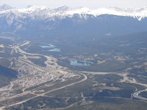Jasper, From Whistler Mountain