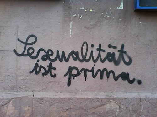 Sexualität ist prima von depone (flickr)