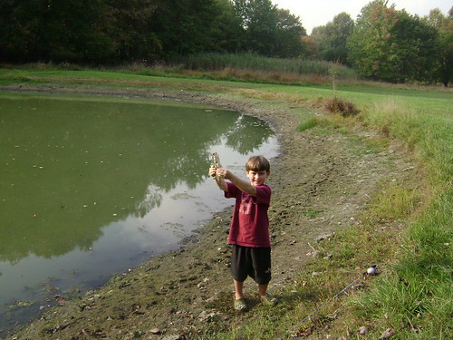 the first fish from the Goose Pond!