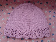 FO - Lace-Edged Woman's Hat