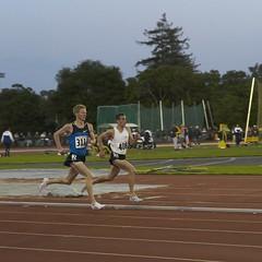 Matt Tegenkamp wins 1500m section 2
