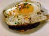 Barrafina pisto with duck egg