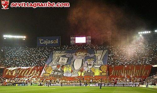 Tifo Sevilla F.C. 3 - R. Betis 0