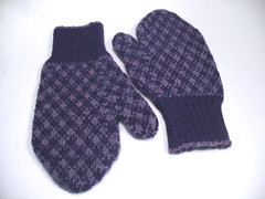 Chipman's Block mittens