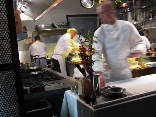 kitchen at Sel Gris