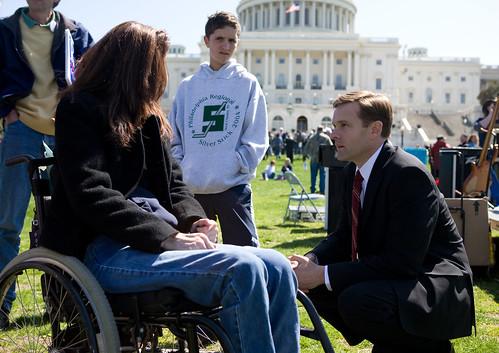 A Congressman who cares