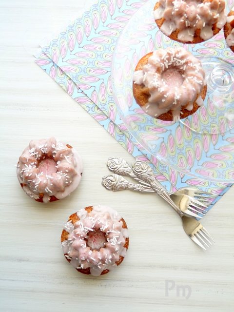 Strawberry Glazed Doughnuts