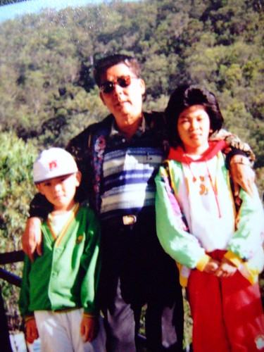 Bro, Grandpa & Me.