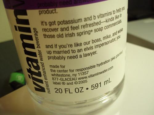 PB200274 Vitamin Water