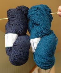 PF - patience blue & baltic blue